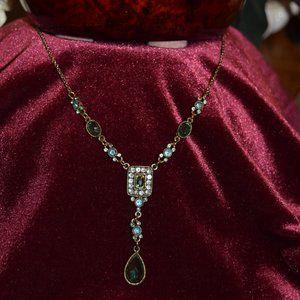"""Vintage Avon Y Necklace 18"""" 4"""" ext"""